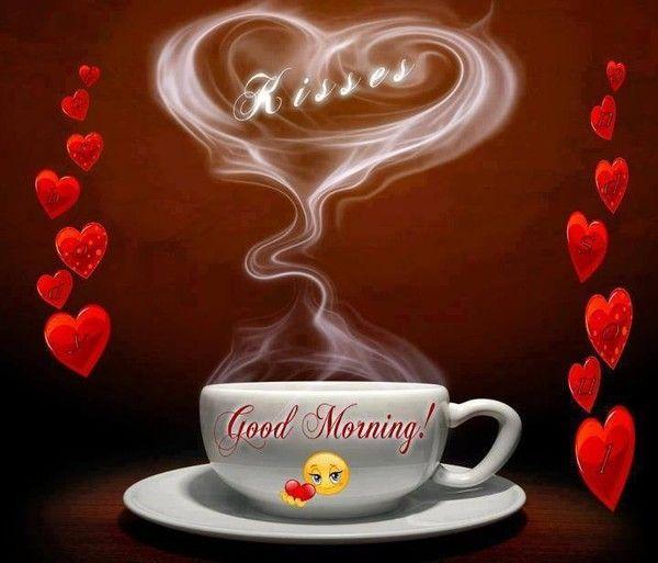 Good Morning Love Heart Images : Bonjour