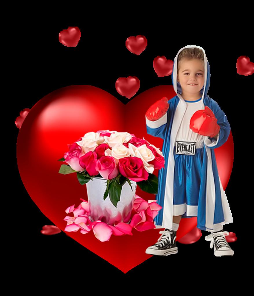Un coeur plein d 39 amour - Un gros coeur d amour ...