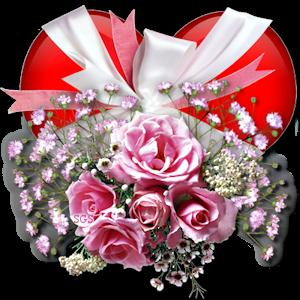Gif coeur et fleur - Images avec des coeurs ...